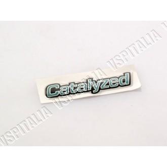 Adesivo cofano -Catalyzed- per Vespa PX freno a disco - R.O. Piaggio 575736