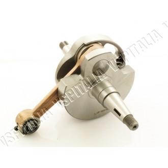 Albero motore corsa 57mm. biella 105mm. tipo originale JASIL per tutti i modelli di Vespa PX 125/150 - 150 Super dal telaio 4123