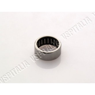 Astuccio a rullini ø22x28x12mm. piatto portaganasce/supporto pinza freno a disco perno ø20mm. per Vespa PX 125 dal telaio VNX2T