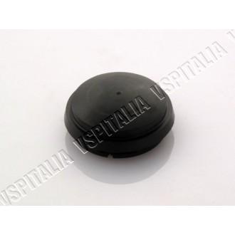 Borchia mozzo anteriore in plastica nera per mozzo freno a disco øint.39mm. øest. 45mm. ORIGINALE PIAGGIO per Vespa PX 125 150 2