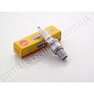 Candela NGK BR10ES - Filetto lungo con resistore