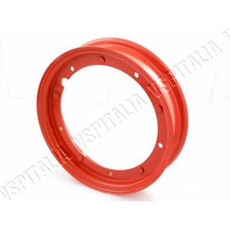 Cerchio scomponibile rosso 10\'\' canale 2.10 per tutti i modelli di Vespa