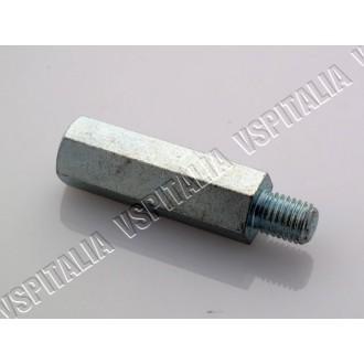 Colonnetta prolunga ammortizzatore - lunghezza esagono 42 mm. Vespa 125/150 Super - R.O. Piaggio 70634