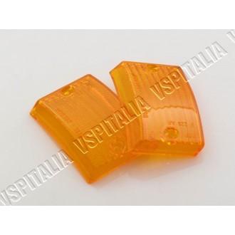 Coppia gemme frecce anteriori arancioni per Vespa PK 50 125 S - R.O. Piaggio 21557 - 217558