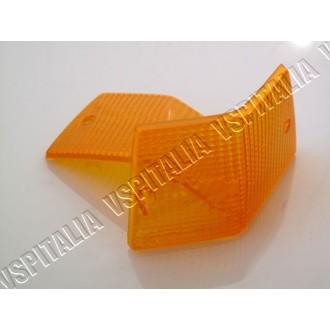 Coppia gemme frecce posteriori arancioni TRIOM per Vespa PX e T5 - R.O. Piaggio 185978 - 185979 - 196898 - 196899