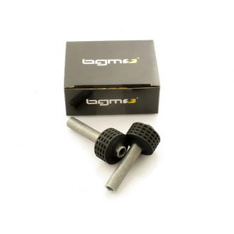 Coppia silent block asse motore BGM ORIGINAL per Vespa PK 50 125 S - XL - R.O. Piaggio 112204