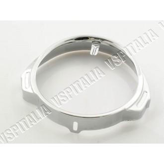 Cornice faro in metallo cromata Vespa PX 125 150 200 Prima serie
