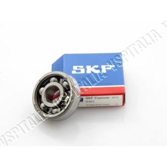 Cuscinetto ø12x37x12 SKF 6301 perno ingranaggio multiplo per Vespa VM - VN - VL - VB1T - VNA - VNB - VBA - VBB - GS 150 - GL fin