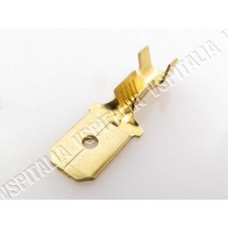 Faston a crimpare non isolato MASCHIO, larghezza 6,3mm