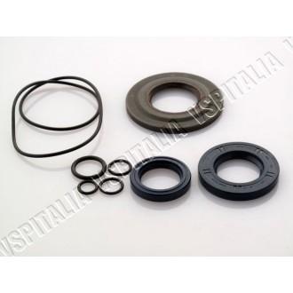 Kit paraoli CORTECO BLU con paraolio lato frizione in metallo con labbro in Viton per modelli di Vespa PX con sede paraolio friz