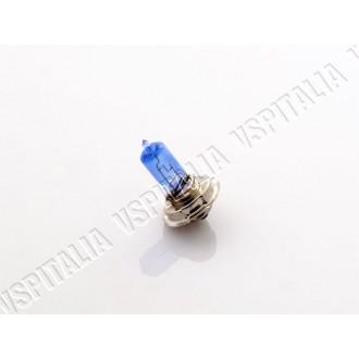Lampadina 12V 20W P26S alogena BLU luce anabbagliante anteriore (per modifiche impianti 12V) per faro alogeno Vespa 50 L/R/N Spe