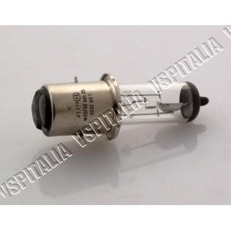 Lampadina 12V 35/35W BA20D FLOSSER Germany alogena luce abbagliante/anabbagliante per faro originale Vespa PX 125 150 200 e per