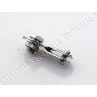 Portapacchi anteriore nero stelo corto Vespa PX 125 150 200