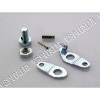 Portapacchi posteriore cromato con maniglie Vespa PX 125 150 200
