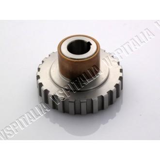 01d - Albero motore PINASCO Anticipato vespa PX 125/150 corsa originale 57 mm.