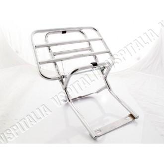 Portapacchi posteriore cromato per tutti i modelli di Vespa PX