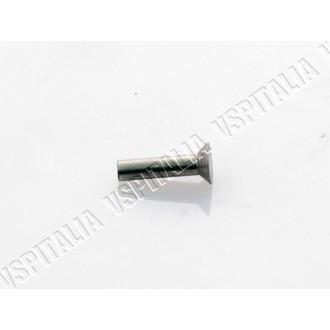 Ribattino testa piatta in alluminio per listelli pedana per tutti i modelli di Vespa - R.O. Piaggio S.10805 - S.14628