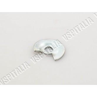 13d - Coppia serrature antifurto cofani con ganci esterni SIP colore grigio scuro, completo di due chiavi Vespa PX 125 1
