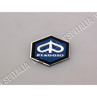Scudetto Piaggio anteriore esagonale 31mm. per mascherina copristerzo Vespa PX 125 150 200 prima serie - PK 50 S - PK 125 S - R.