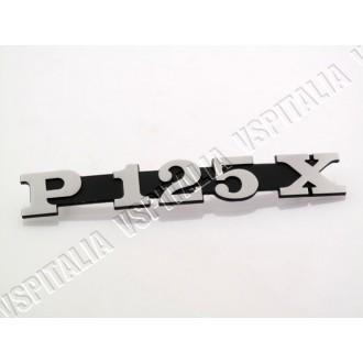 05d - Scudetto rettangolare Piaggio mascherina copristerzo Vespa PX 125 150 200 Millennium - PX 125 150 2011 - R.O. Piag