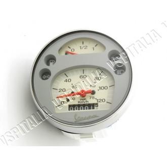 Contakm Originale Piaggio ø105 mm. scalato 120 Km/h per Vespa PX Arcobaleno e freno a disco - R.O. Piaggio 583074 198424
