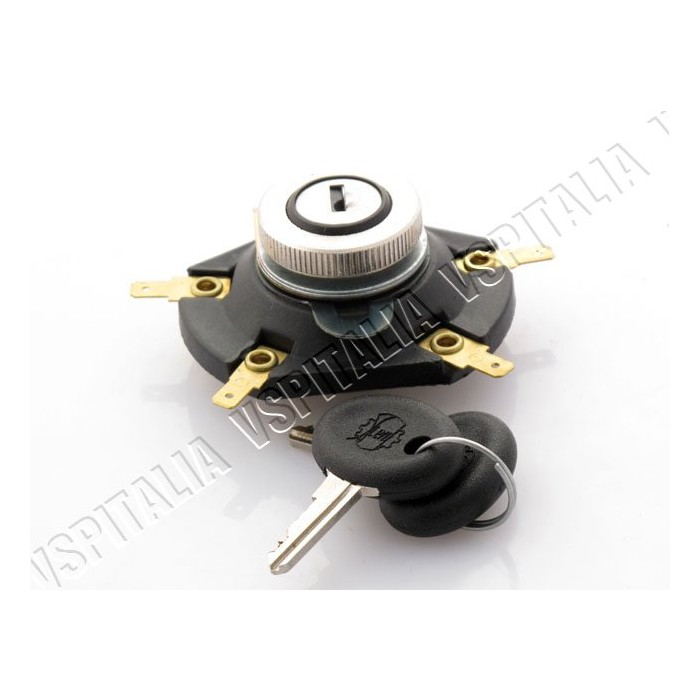 Commutatore accensione con chiave ovale SIEM per Vespa 125 Primavera ET3 - PX (prima delle versioni Arcobaleno) - 200 Rally - R.